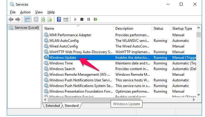 fix Windows error 0x8024a000