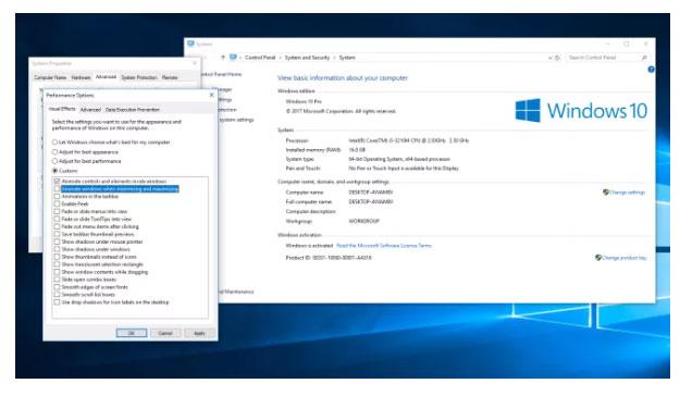 Speed up Windows 10 issue