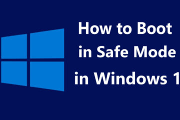 Boot in Safe Mode in Windows 10