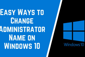 hange Administrator on Windows 10