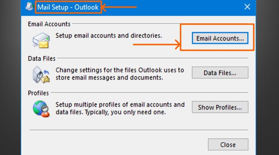 Fix Outlook Error 0x80040115
