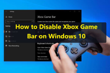 How to Disable Xbox Game Bar on Windows 10