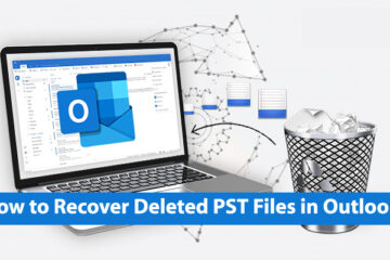 How to Recover Deleted PST Files in Outlook?
