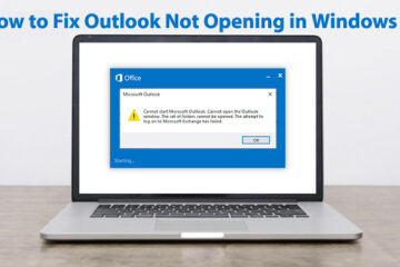 How to Fix Outlook Not Opening in Windows 10