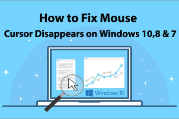fix Cursor Disappears on Windows 10,8 & 7