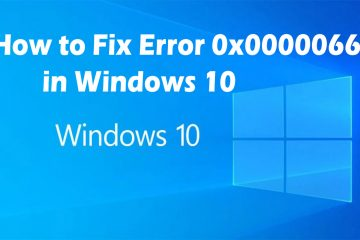 How to Fix Error 0x00000667 in Windows 10