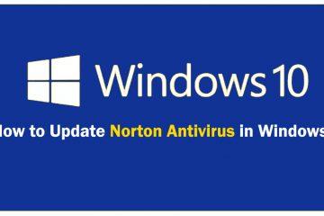How to Update Norton Antivirus in Windows 10