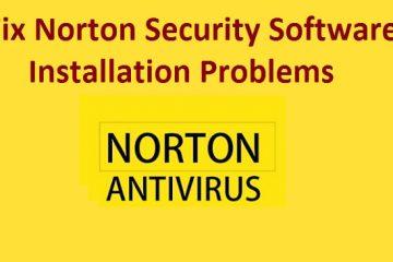 Norton Antivirus Installation Problem